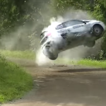Tonneaux de Marttinen au rallye de Finlande 2015