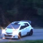 Toyota Yaris WRC en glisse