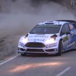 Ford Fiesta WRC en glisse