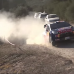 Stéphane Lefebvre à l'attaque avec la DS3 WRC