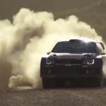 Volkswagen Polo R WRC dans la poussière
