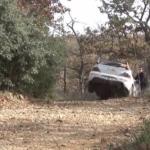 Mitsubishi Lancer dans le trou