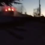 La Skoda Fabia R5 pendant le crash