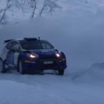 La Ford Fiesta R5 Evo sur la neige