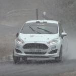 La Ford Fiesta R2 sous la neige