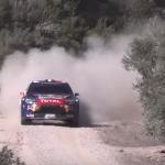 La Citroën DS3 WRC avec Stéphane Lefebvre