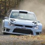 La Volkswagen Polo R WRC dans une corde profonde