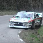 Lancia 037 lors du rallye