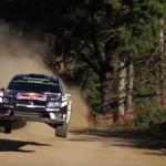 Volkswagen Polo R WRC les 4 roues en l'air !