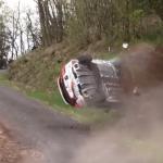 Gros crash d'une Renault Clio 4