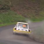 Renault 5 Turbo dans une corde pleine d'eau