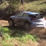 La Hyundai I20 WRC dans la terre