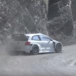 La Volkswagen Polo R WRC 2017 en dérive