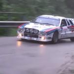 Une Lancia 037 aux couleurs officielles