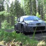 La Yaris WRC en essais