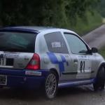 Renault Clio 2 en glisse