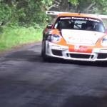 Porsche 997 GT3 en glisse