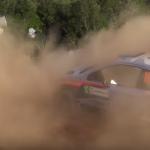 La Hhyundai I20 WRC dans la poussière