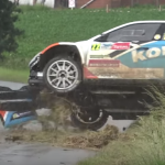 Crash d'une Skoda Fabia R5