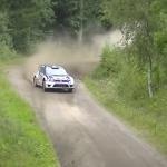 La Volkswagen Polo R WRC lors des essais