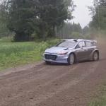 La Hyundai I20 WRC pendant les essais