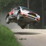 Gros saut de Lukyanuk avec la Fiesta R5