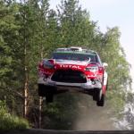 La Citroën DS3 WRC de Kris Meeke en Finlande