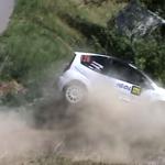 Crash d'une Citroën C2 R2