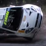 La Punto S2000 pendant le crash