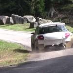 La Citroën DS3 R5 pendant les essais
