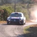 La Volkswagen Polo R WRC sur les routes corses