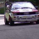 Une Audi Quattro Groupe 4
