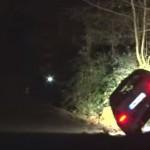 La Skoda Octavia WRC en plein crash