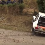 La Ford Escort MK2 dans le talus