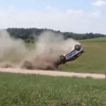 Crash d'une Ford Fiesta R5