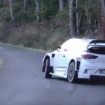 La Hyundai I20 WRC en glisse