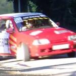 La Citroën AX en glisse