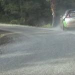 La Citroën C4 WRC dans le décor
