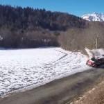 La Citroën C3 WRC lors du choc