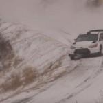 La Hhyundai I20 WRC sur la neige