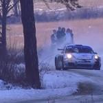 La Porsche de Romain Dumas en glisse sur la neige