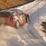 Craig Breen en glisse avec la DS3 WRC