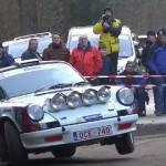 Une Porsche à la limite