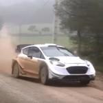 La Ford Fiesta WRC en glisse