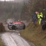 Crash de Thierry Neuville