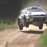 La Volkswagen Polo R WRC 2017 en plein saut