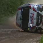 Le crash de la Peugeot 208 R2