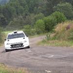 La Hyundai I20 R5 lors des essais