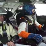 A l'intérieur de la Mitsubishi Lancer Evo 10