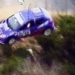 Gros crash d'une 206 au Tour de Corse